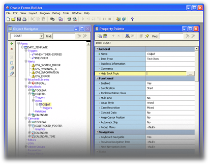 Oracle Forms Builder